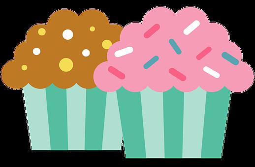 Muffins, Muffin, Cake, Cupcakes, Dessert, Cupcake, Food