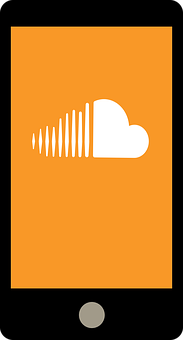 Smartphone, Application, Soundcloud, Listen, Music, Mp3