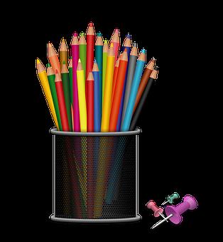 Kit, School Supplies, Crayons, School, Children
