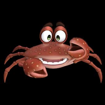 Crab, Sea Animal, Toon, Funny, Cancer