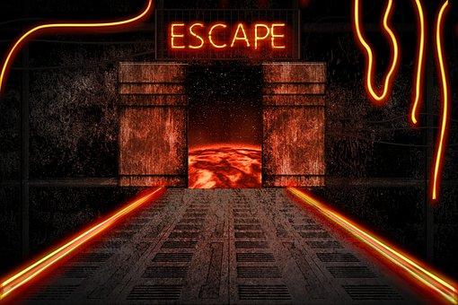 Spaceship, Interior, Apocalypse, Escape, Sci-fi