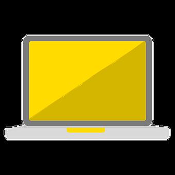 Laptop, Vector Laptop, Design, Laptop Technology, Pc