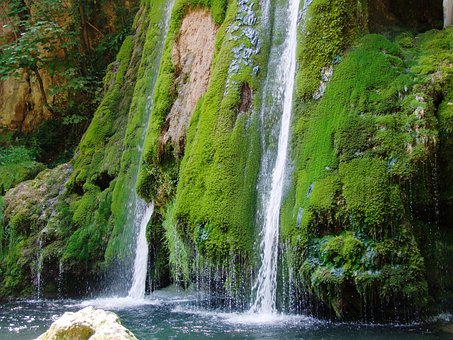 Mountain Stream, Waterfall, Clean Water, Life, Partium