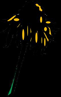 Sunflower, Wilted, Petal, Dry, Bloom, Blossom, Wilt