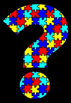 Autism, Question Mark, Puzzle, Question