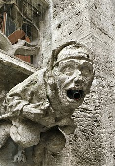 Gargoyle, Scary, Gothic, Stone, Architecture
