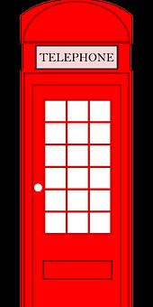 Phone Box, Telephone Booth, Telephone Box, Call Booth