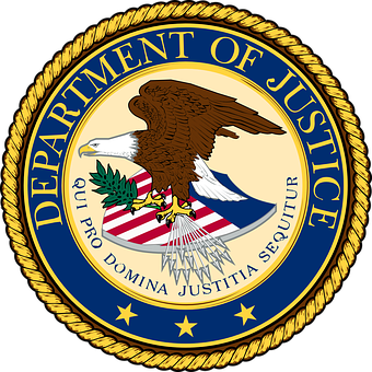 Department, Justice, Usa, United, States, America, Seal