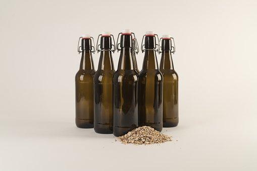 Beer Bottle, Craft Beer, Beer, Glass, Barley, Brewer