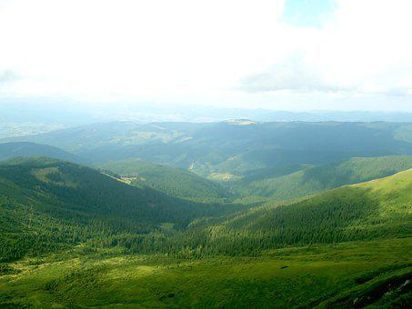 Mountains, Hills, The Carpathians, Nature, Landscape