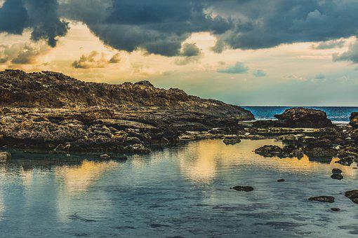Rocky Coast, Sea, Nature, Landscape, Rock, Scenery, Sky