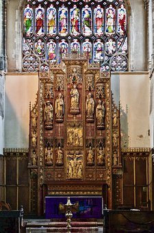 Altar, Decoration, Religious, Christian