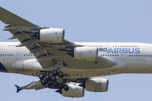 The Airbus A380, Airbus, A380, Aircrafts, Aircraft