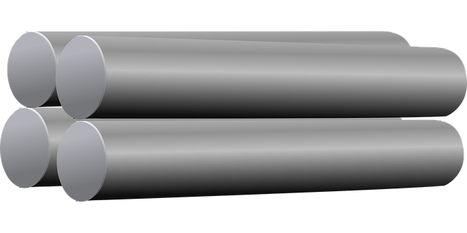 Steel, Tubes, Metallic, Metal, Pipes, Industrial