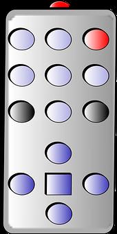 Remote Control, Infrared, Ir, Tv