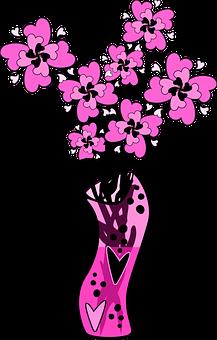 Graphic, Valentine, Hot Pink