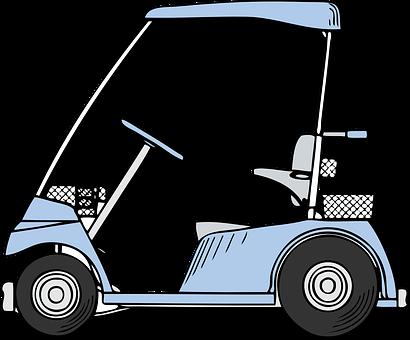 Golf Cart, Golf, Buggy, Golfing, Buggie