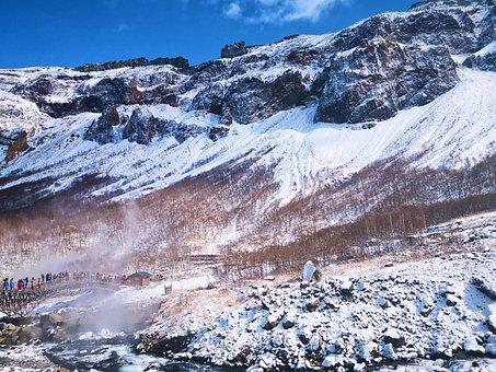 Snow Mountain, Changbai Mountain, North-east, China