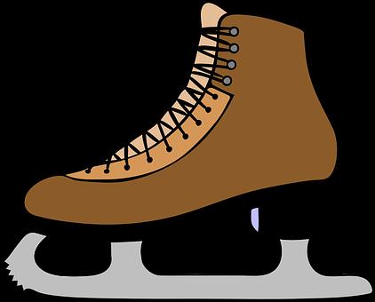 Ice Skates, Ice, Shoe, Boot, Sports