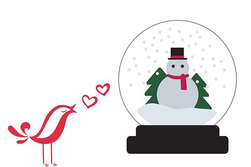 Merry Christmas Music Snowman