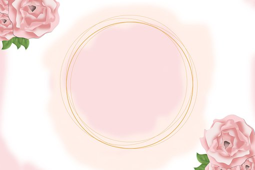 Flowers, Rose, Invitation, Background, Elegant, Love