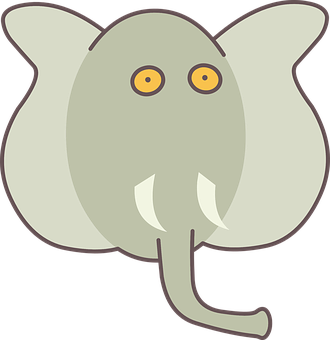 Elephant, India, Animal, Travel, Flat, Kid, Safari