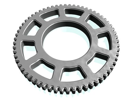 Gear, Teeth, Industry, Machine