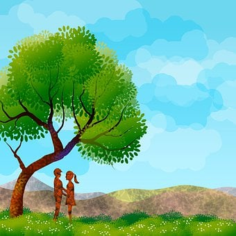 Landscape, Nature, Tree, Sky, Green