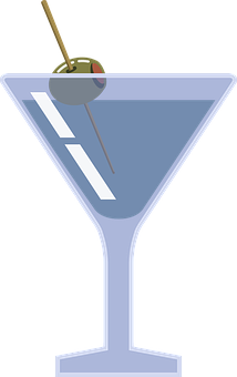 Martini, Cocktail, Drink, Olive, Alcohol