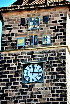 Tower, Clock, City, Europe, Travel