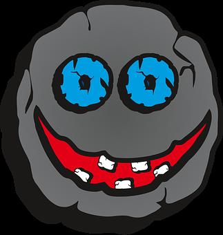 Mug, Face, Teeth, Eyes, A Smile, No Background