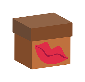 Box, Kiss, Gift, Love, Present, Surprise, Woman