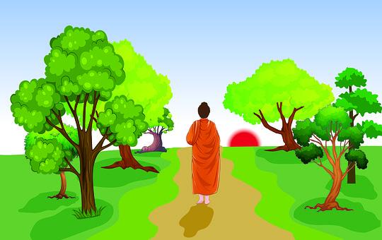 Buddha, Zen, Monk, Meditation, Yoga, Alms, Mendicants