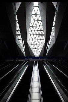Railway Station, Window, Steel