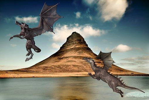 Dragon, Dragons, Dragoon, Monster, Tracking, Clash