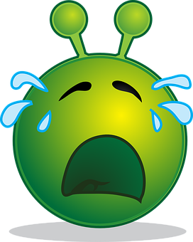 Alien, Smiley, Emoji, Emotion, Emoticon, Design