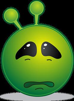 Alien, Smiley, Emoji, Emoticon, Emotion, Computer