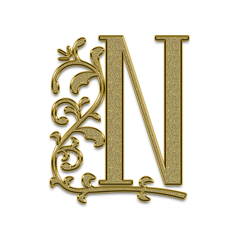 Letter, Litera, Monogram, The Text Of The, Font
