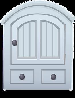 Closet, Furniture, Blue, Door, Drawers
