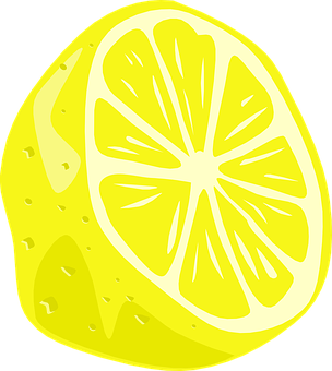 Lemon, Half, Fruit, Citrus, Food, Ripe, Sour, Vitamin