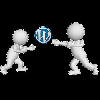 Wordpress, Website, Word, Press, Men, Characters