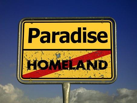 Home, Paradise, Refugee, Hope, Expectation