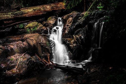 Waterfall, Nature, Olinda, River, Water, Landscape