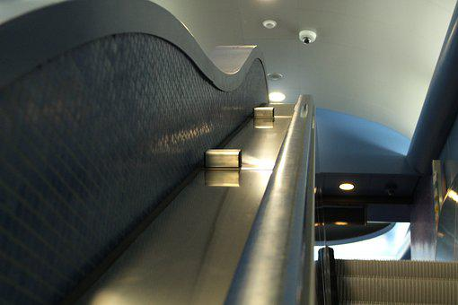 Metro, Naples, Art, Stairs