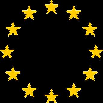 Stars, Circle, Round, Union, European, Symbol