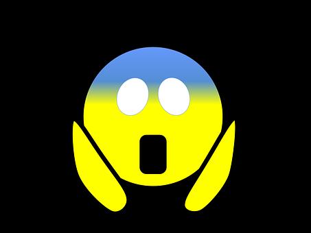 Emoji, Scared, Emoticon, Expression, Fear, Mood