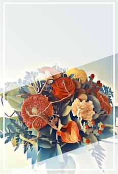 Driven, Telegram, Invitation, Flowers