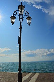 Garda, Italy, Lake, Water, Blue, Vacations, Tourism