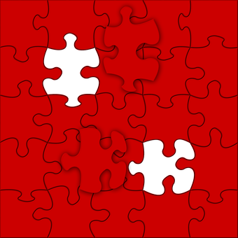 Puzzle, Texture, Background Jigsaw Puzzle, Red, Color