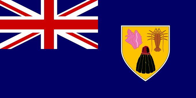 Turks And Caicos Islands, Flag